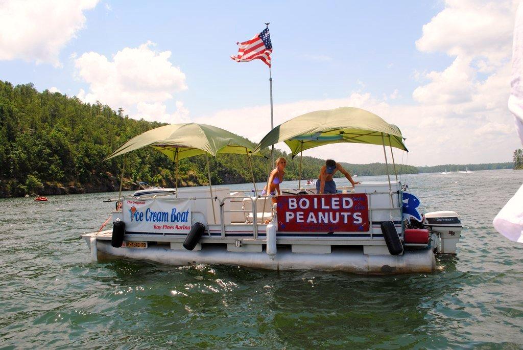 boiled peanut boat