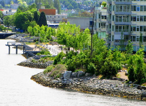 Shoreline Village olympique à Falsecreek Sud à Vancouver