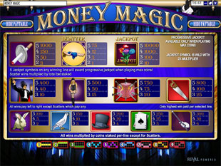 free Money Magic slot mini symbol