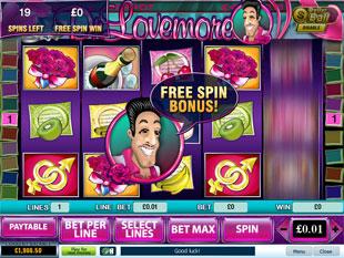 free Dr Lovemore gamble bonus game