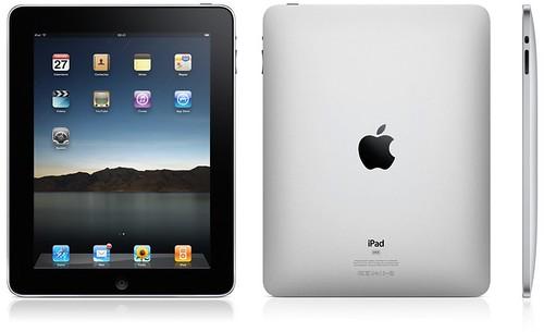 Fotografía de un iPad, por delante y por detrás (que le gusta más)