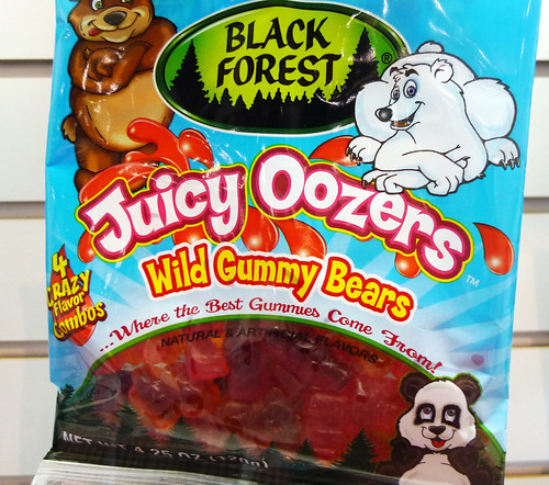 Black Forest Juicy Oozers Wild Gummy Bears