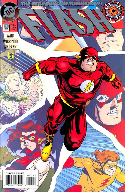 Flash 0 1994 cover by Mike Wieringo