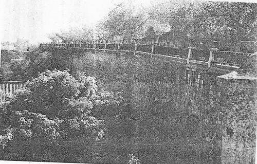 Paseo del Miradero a mediados del siglo XX. Foto Porres