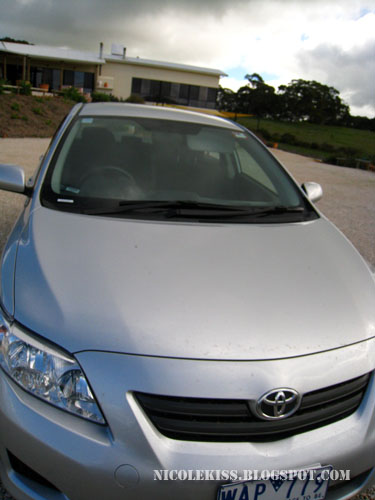 toyota rented car