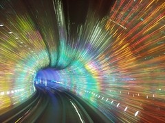 Shanghai - Bund Sightseeing Tunnel (cnmark) Tags: light music orange motion blur color colour green speed underground subway geotagged lights movement long exposure shanghai action sightseeing tunnel experience scifi    soe bund blackhole breathtaking multimedia  lightspeed blueribbonwinner otw  10000views allrightsreserved bej  abigfave platinumphoto theunforgettablepictures theperfectphotographer tup2 breathtakinggoldaward geo:lat=31242526 geo:lon=121487331 mygearandmepremium