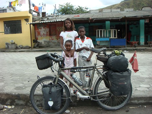 Negritas/negritos in El Juncal, northern Ecuador...