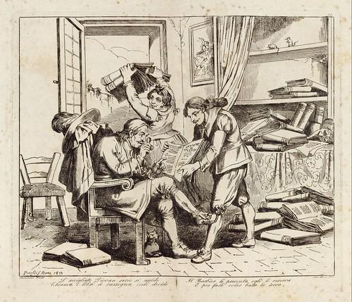007-Le azione piu celebrate del famoso cavaliere errante Don Chisciotte della Mancia inventate ed incise 1833-1834