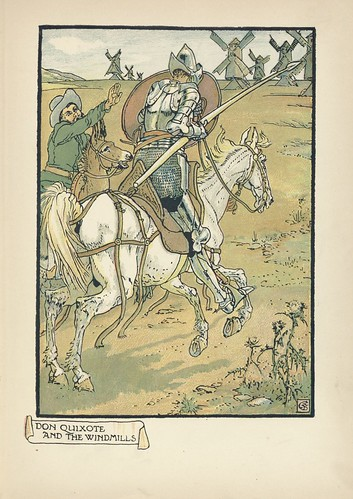 021-Don Quixote of the Mancha de 1909 -Walter Crane