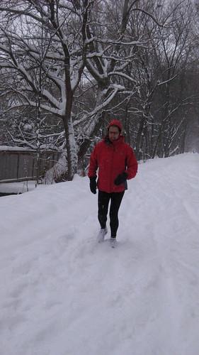 Training Run after a Fresh Snowfall