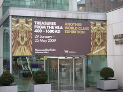 Treasures from the V&A 400-1600AD at the Millennium Gallery, Sheffield.