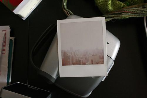 polaroid landscape
