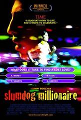 Poster El millonario Slumdog Millionaire