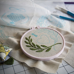work in progress... (miniature.rhino) Tags: embroidery workinprogress galleryhanahou