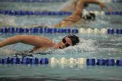 Brown, Megan - 1650m Free 03 (dwightsghost) Tags: college sports water pool freestyle ncaa columbiauniversity divisioni womensswimming canonef70200mmf28lisusm 1mile 1650m canoneos5dmarkii meganbrown 1650meter womensswimminganddiving