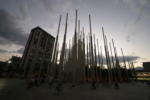 Parque de los Luces, Medellín - Colombia
