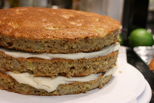 Banana Cake Layers