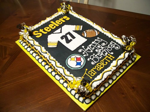 Steelers Birthday Cake a photo on Flickriver