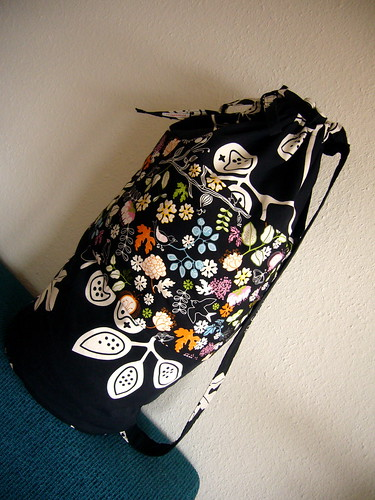 rock'n' roll laundry bag.