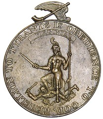 Happy While United medal (obverse)