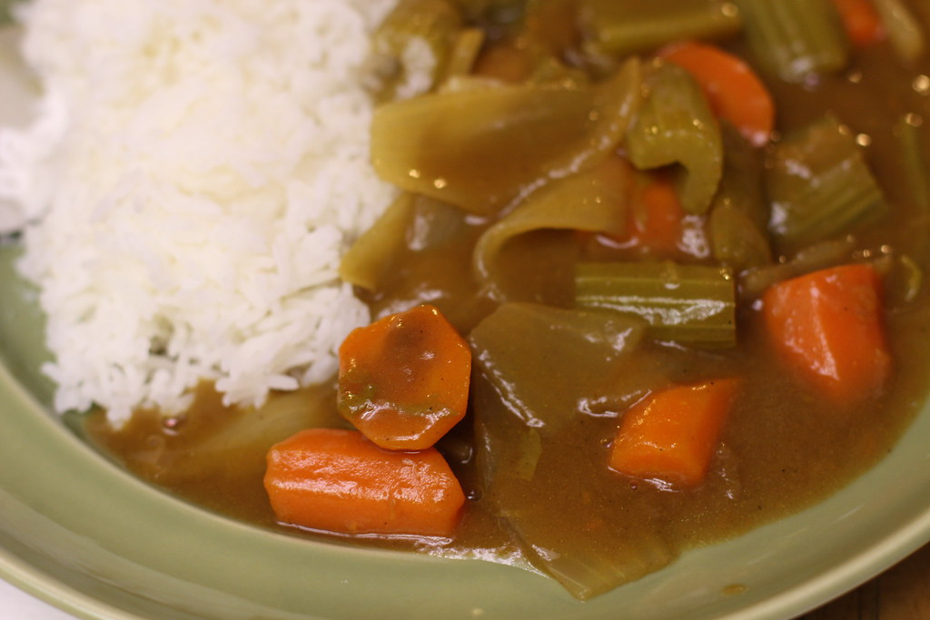 Vegetarian Japanese Curry