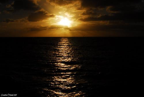 Sun Set from Alii Kai 2009