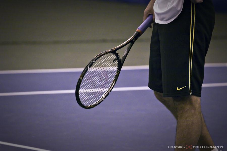 Pete Sampras' Racquet in practice today (pics) | Talk Tennis
