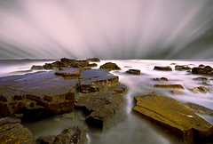 Tombstone (dan barron photography - landscape work) Tags: seascape bay rocks long exposure northumberland marsden nikond90