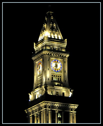 Custom House Tower Clock (1 of 2)