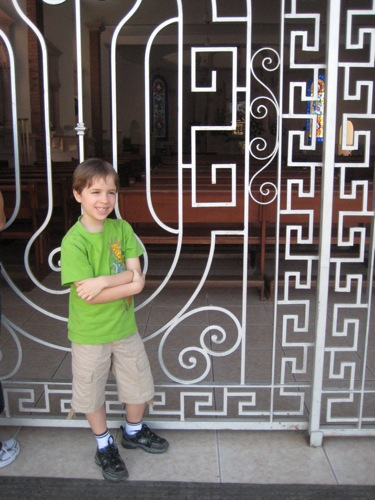 JDBoy in front of Cathedral