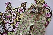 Deco Swing Top and Knit Shorts - medium