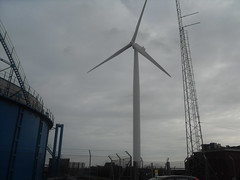 wind turbine at ness point (jwoodgreaves) Tags: point wind dull turbine ness