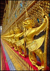Great Garuda and Nagas in Wat Phra Kaew