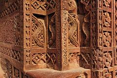India New Delhi _D7C1993 (youngrobv) Tags: india geotagged nikon asia minaret unescoworldheritagesite gps fx complex qutub minar n1 bharat newdelhi qutb qutab uttarpradesh  0812 robale hindustan alaidarwaza d700    youngrobv 2470mmf28g solmeta alaigate  d7c1993