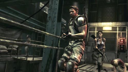 Resident Evil 5 helicóptero