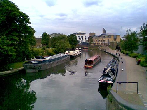 regent's canal, kensal