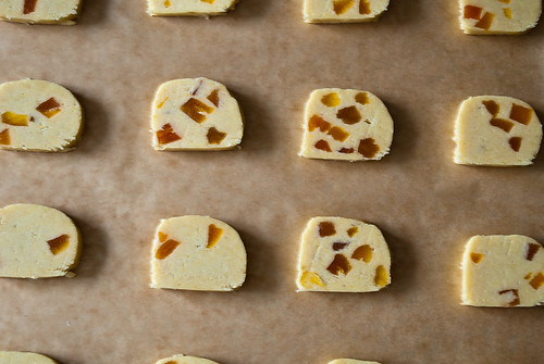 Apricot Cornmeal Cookies