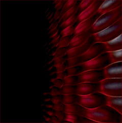 wings of darkness (barbera*) Tags: red toronto black texture metal wall waves decorative surface finish bceplace sculpted barbera firstquality justimagine brookfieldplace favfavfavfavfav 064713 iguessedrightthatthelasttagwasfromrvf