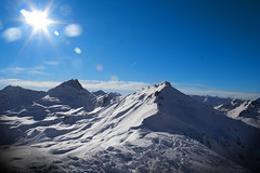 [フリー画像] [自然風景] [山の風景] [アルプス山脈] [スイス風景] [雪景色]      [フリー素材]