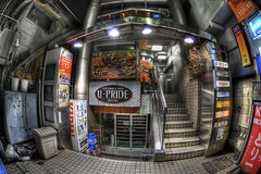 U-PRIDE(what?? (xjrshimada) Tags: japan fisheye 15mm hdr hdri d700