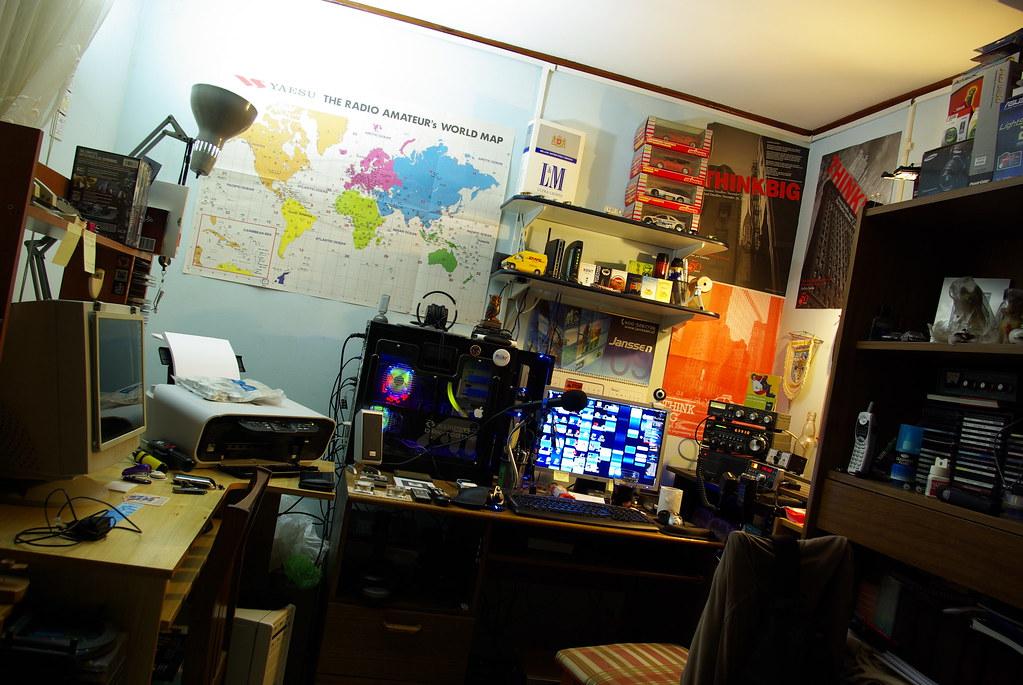Workstation/Ham RadioShack
