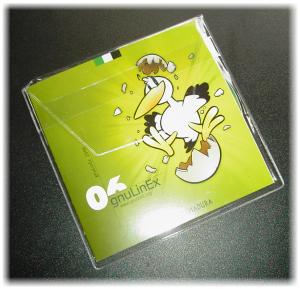 gnuLinEx promotional LiveCD