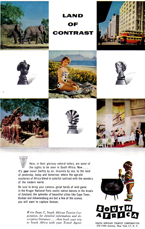 Vintage Ad #785: Land of Contrast