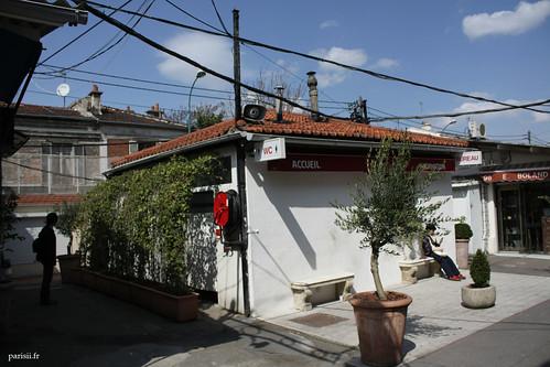 Chaque marché a ses toilettes publiques, utilisées par les commerçants et les clients