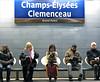 Waiting (HannyB) Tags: people paris station interestingness metro 100v10f wating champsélysées clemenceau 30faves30comments300views
