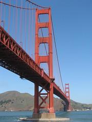 Fort Point, San Francisco (Redbeard Math Pirate) Tags: sf sanfrancisco california bridge goldengatebridge goldengate bayarea fortpoint sanfranciscobay suspensionbridge frisco ftpoint ggb