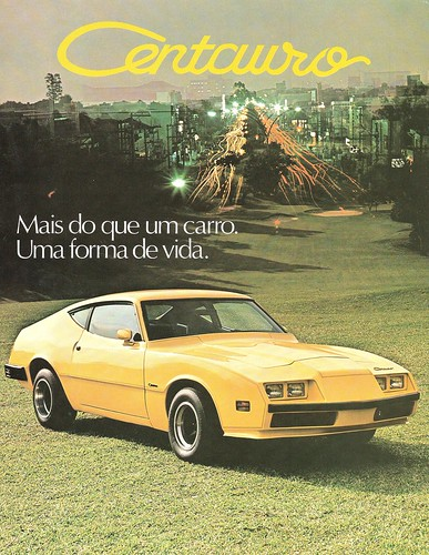 Brazilian sports car made from Ford Maverick. Written on September 1, 2010