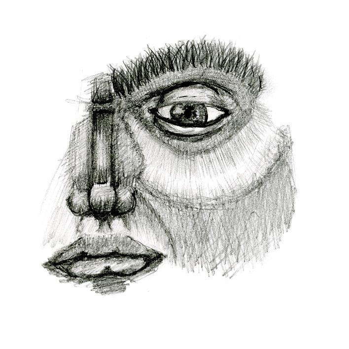 a bit of a face