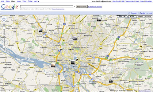 screenshot google maps webcams hamburg
