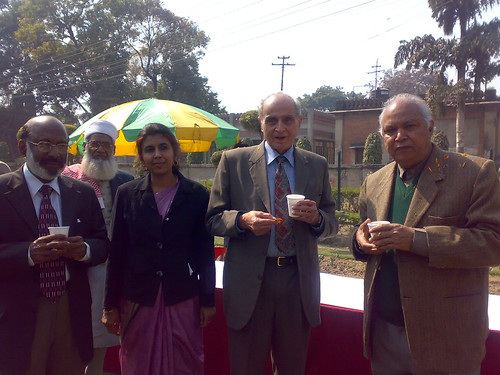 Prof. S. Z. Qasim, Prof. P. K.Abdul Azis, Prof. M. S. Jairajpuri, Dr. Qudsia Tahseen and Mr. Jalal